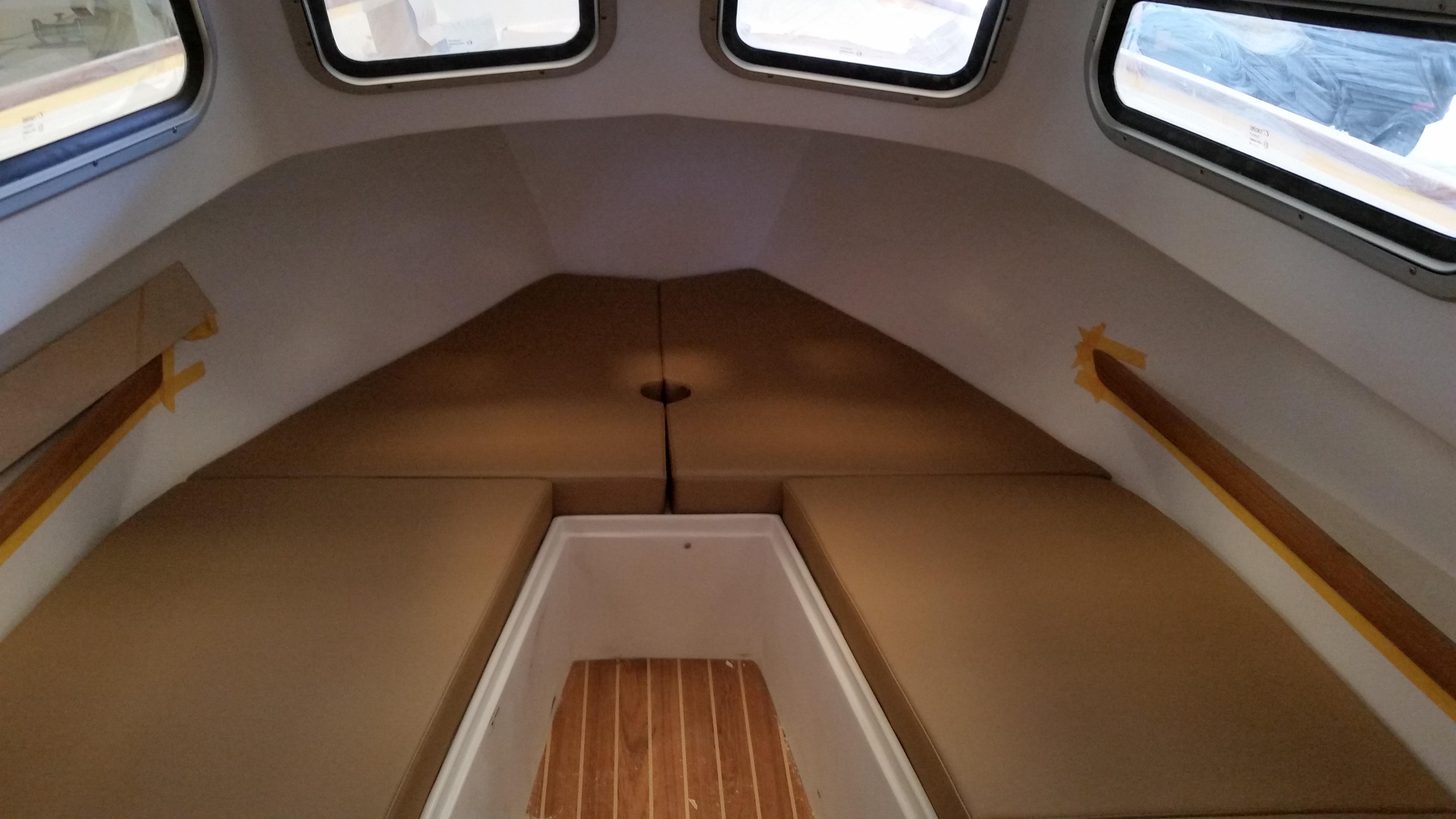 Interior embarcaciones tapizado